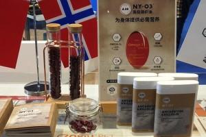 """挪威阿克&NYO3带""""海洋型磷脂""""纯南极磷虾油来中国"""""""